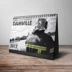 Calendrier Pompiers Damville édition 2017