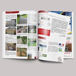 Création et impression du bulletin municipal de la ville de Ouerre