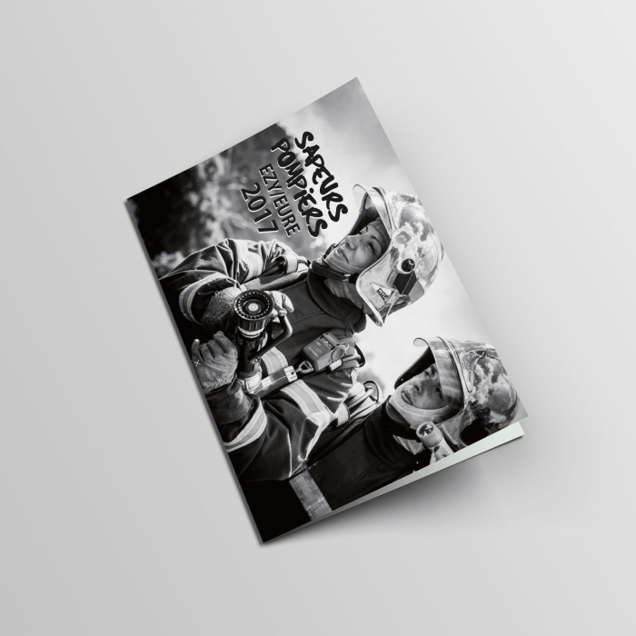 Calendrier pour les pompiers d'ezy/eure édition 2017